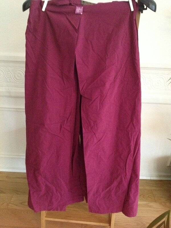 pantalon indien large