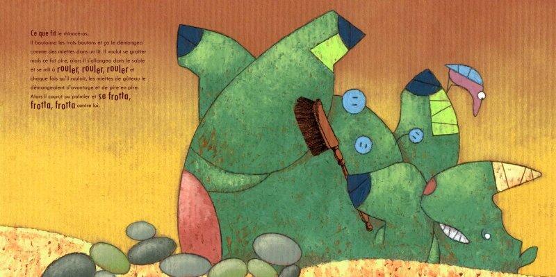 La Peau du rhino