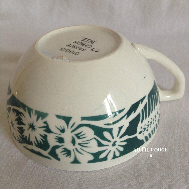 Tasse à café Cibon Nil diam 8 cm