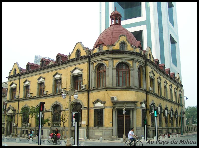 Russo asian bank of Tianjin constr 1900 03
