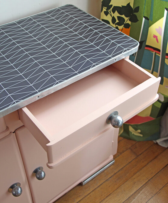 buffet-mado-rose-poudre-tiroir-ouvert