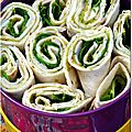 Des wraps pour un chouette pique-nique