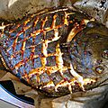 Barbue au piment aux crevettes croustillantes