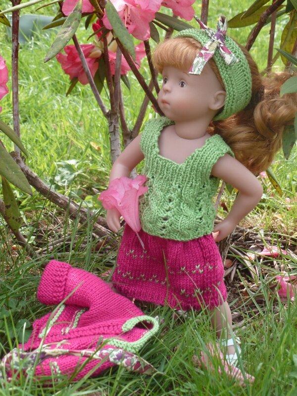 Camille au jardin