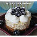 Cheesecake blackberry