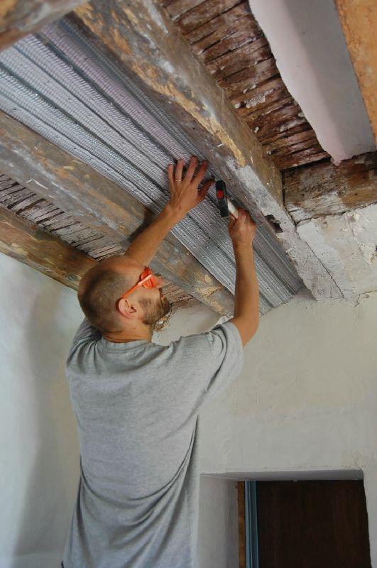 Le plafond cuisine 1 la maison aux tilleuls - Plafond du livret a la poste ...