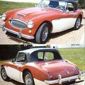AUSTIN HEALEY - 3000 HBJ8 Srie 29 407 - 1966