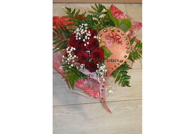 Bouquet en forme de coeur tous les messages sur bouquet en forme de coeur au fil des fleurs - Bouquet de roses en forme de coeur ...