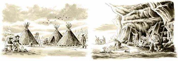 Campement-Sépia
