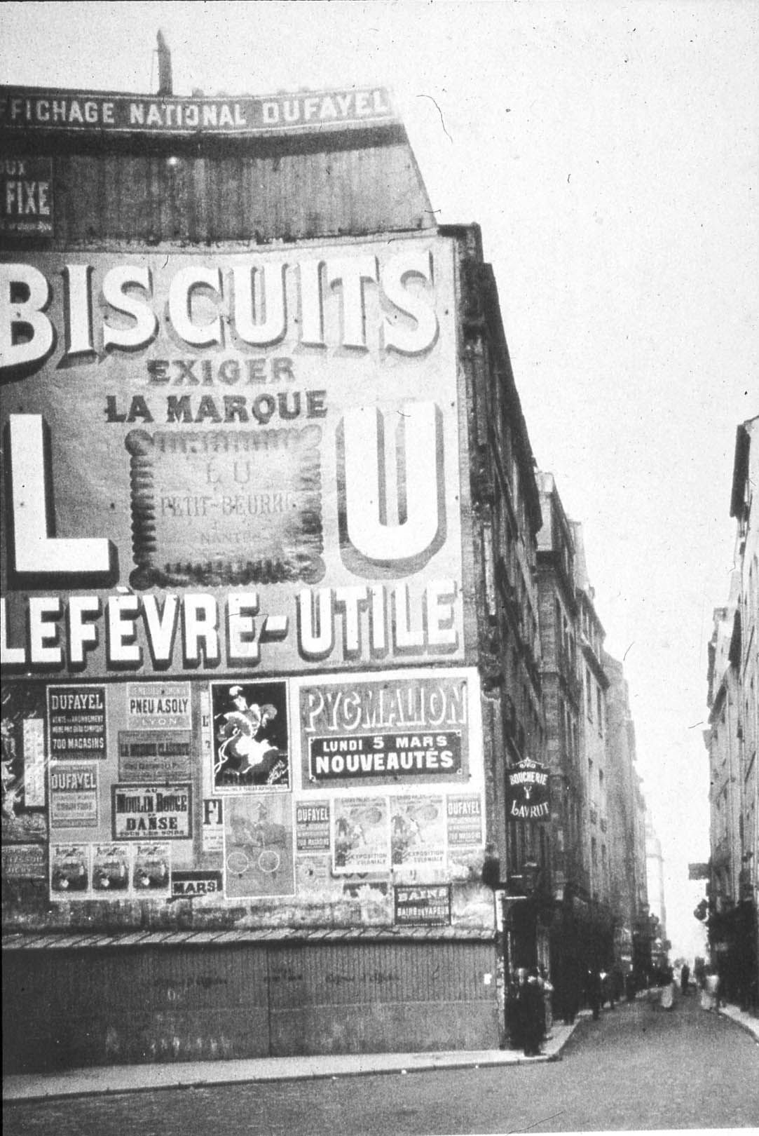 Atget 1906 Rue Saint-Jacques Paris