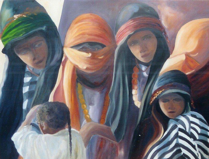 Groupe de femmes berbères