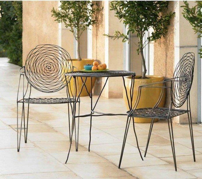 ARCHZINE jardin-méditerranéen-eco-design-chaises-tables-objet-décoration