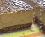 mousse speculoos