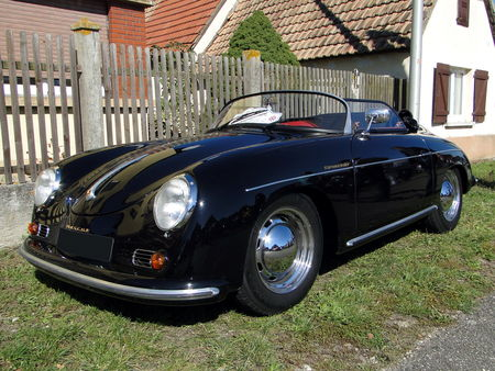 PORSCHE 356 1600 Speedster Randonnee des Vendanges de Rustenhart 2010 1