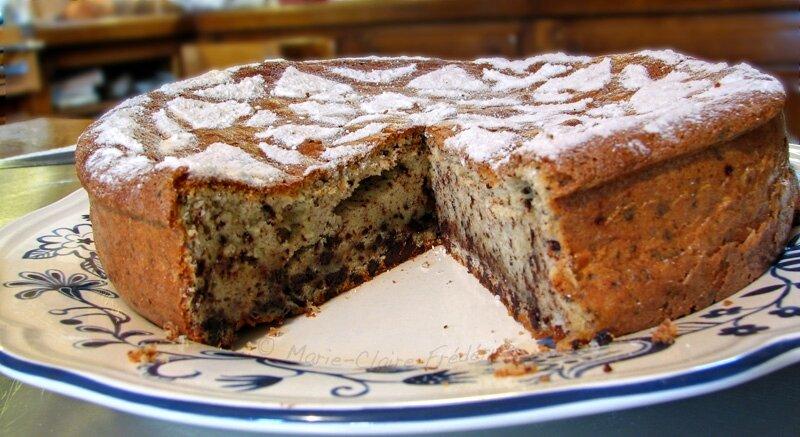 gâteau au chocolat de metz : parfum d'enfance - du miel et du sel