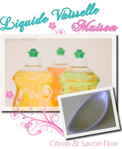liquide vaisselle maison au savon noir by reo cosmetiques maison diy conseils beaut. Black Bedroom Furniture Sets. Home Design Ideas