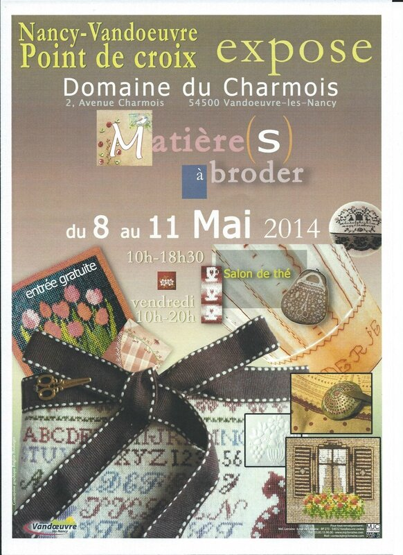 affiche expo charmois 2014