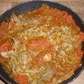 Sauce tomates et thon pour pâtes a la kalinka