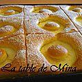 Gâteau aux tranches de pommes fondantes