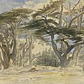 Edward lear (1812 – 1888), the cedars of lebanon