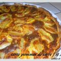 TARTE AUX POMMES DE TERRE ET ST AGUR 