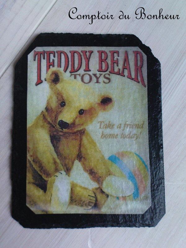 magnet teddy bear