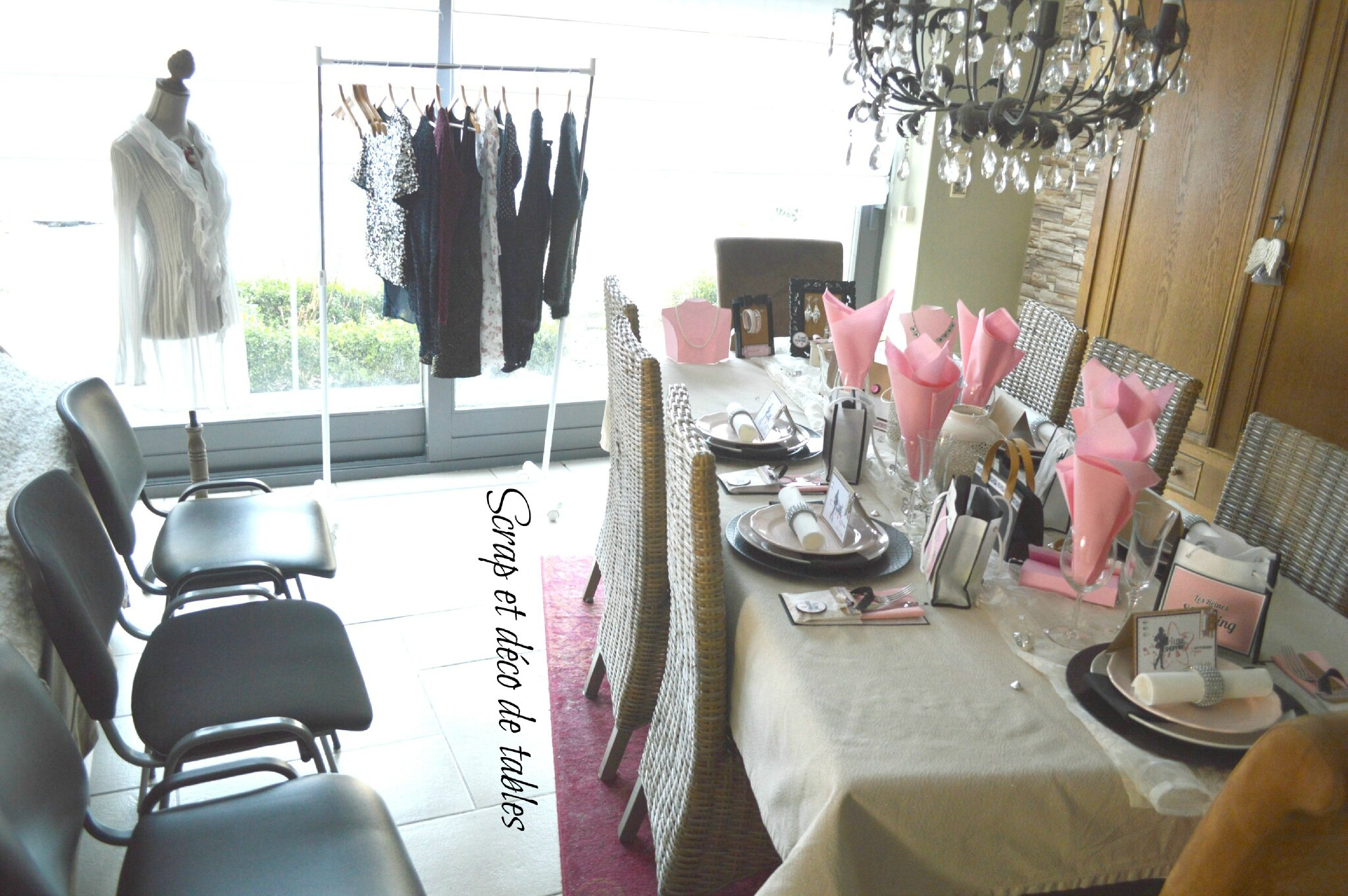 decoration de table les reines du shopping pour les 18