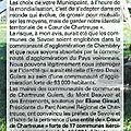 Bulletin municipal entre deux guiers - juin 2011