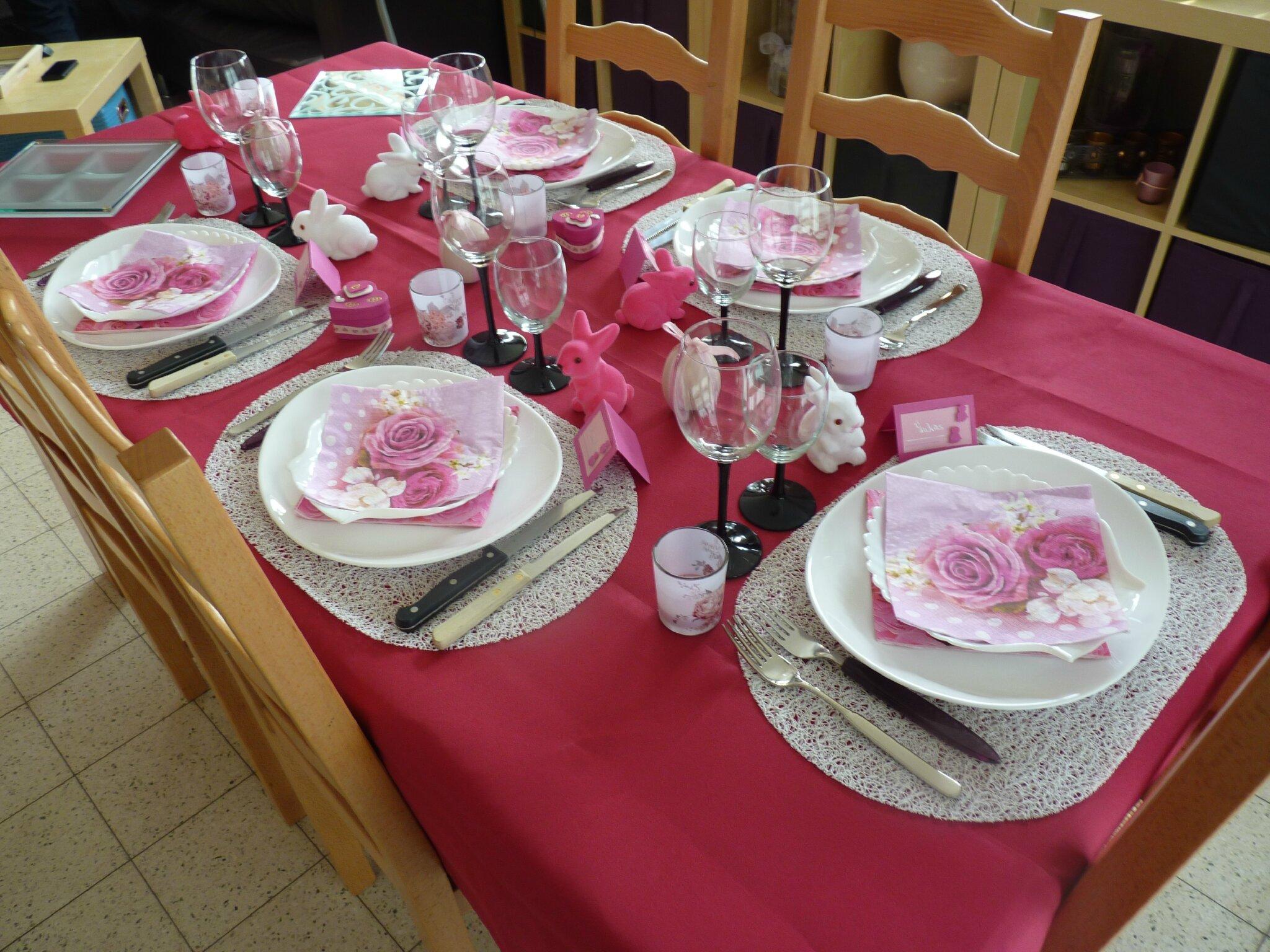 D coration table de p ques 2014 les passions d 39 emilie - Decor de table pour paques ...
