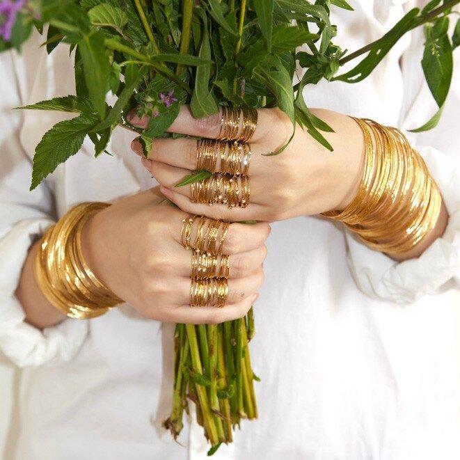 bijoux bague or