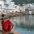 Ghat of Pushkar
