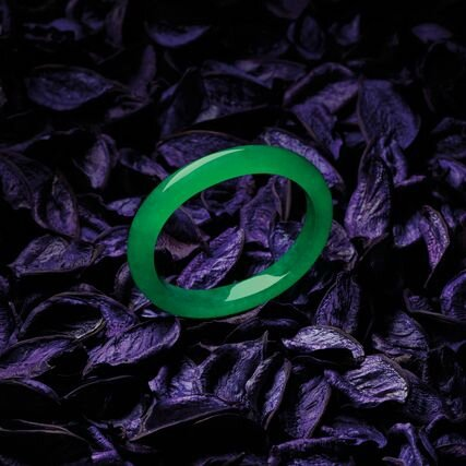 Important Jadeite Bangle
