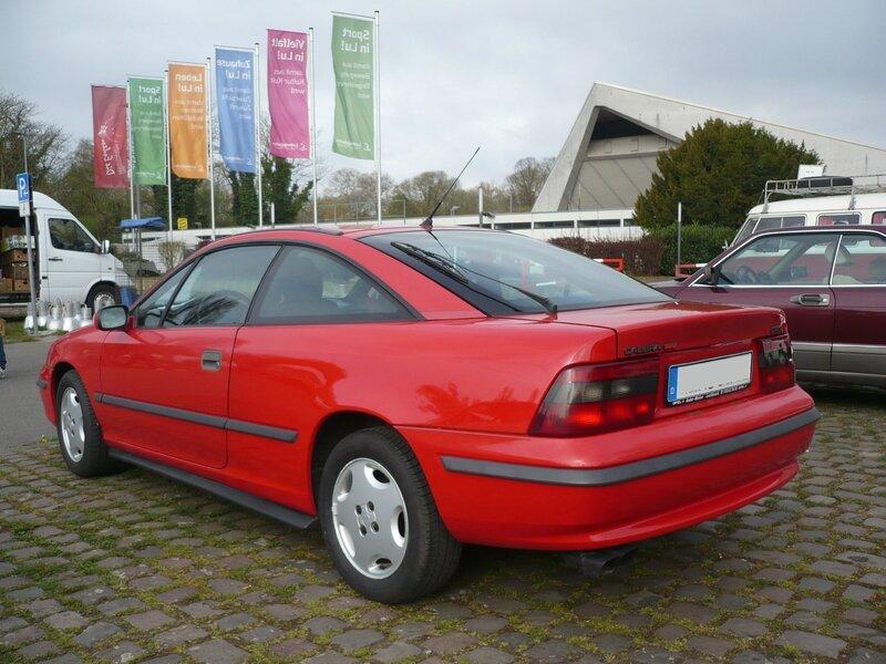 OPEL Calibra 16V 1991 Ludwigshafen (2)