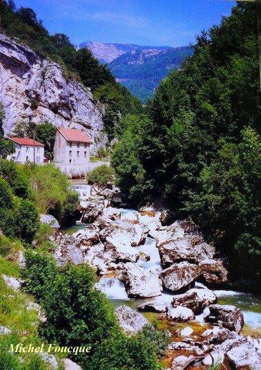 354) rando Vélo Gorges de la Bourne (Vercors)