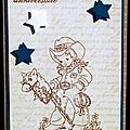 03. beige, bleu, blanc et chocolat - cowboy