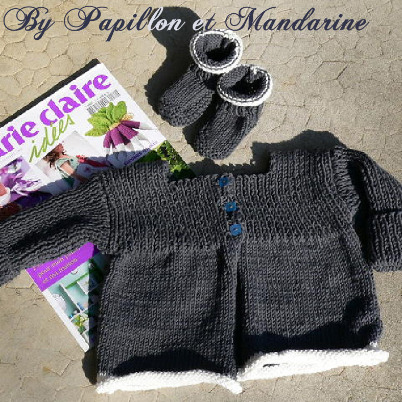 modele tricot marie claire