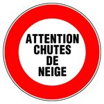 Attention chutes de neige