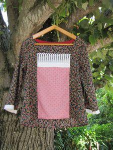 blouse japonnaise