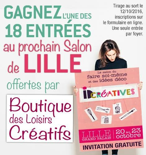 Invitations gagner salon id cr atives de lille - Salon id creatives ...