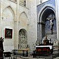 FecaTrin177Vue d'ensemble du transept nord et de la chapelle du Calvaire