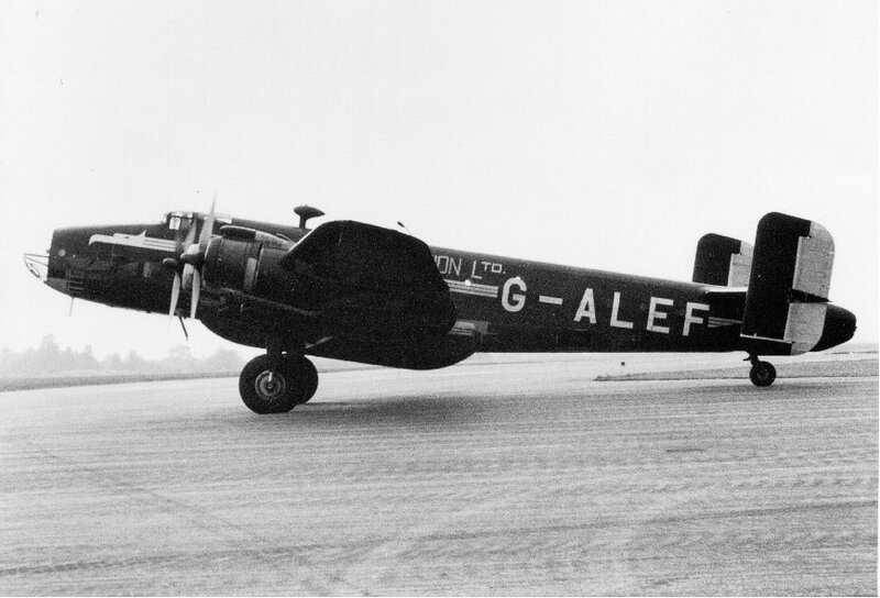 HALIFAX G-ALEF Eagle Aviation Ltd