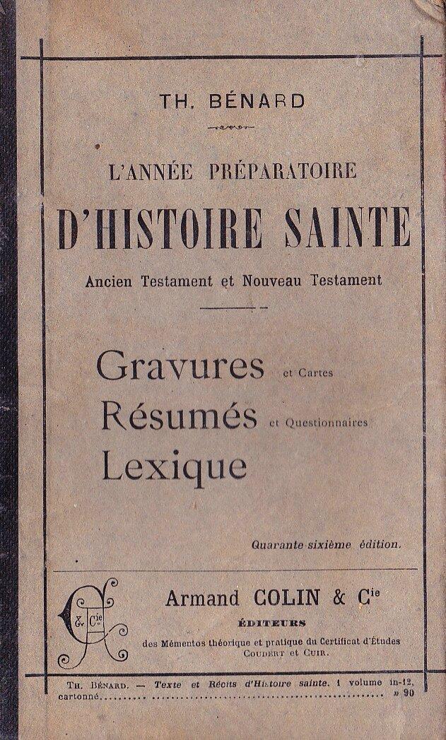 Histoire-sainte-Benard