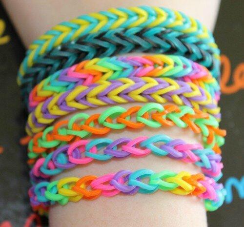 Bracelets lastiques le blog de laurence - Comment faire bracelet elastique ...