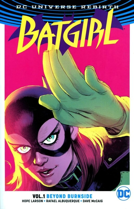 rebirth batgirl vol 01 beyond burnside TP