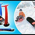 Trottinette des neiges - kidscoot snowboard - kidscoot