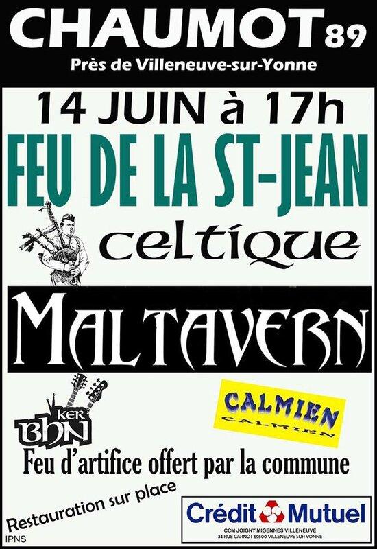 Feu de la Saint Jean 2014