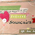 Mini album Tendres souvenirs