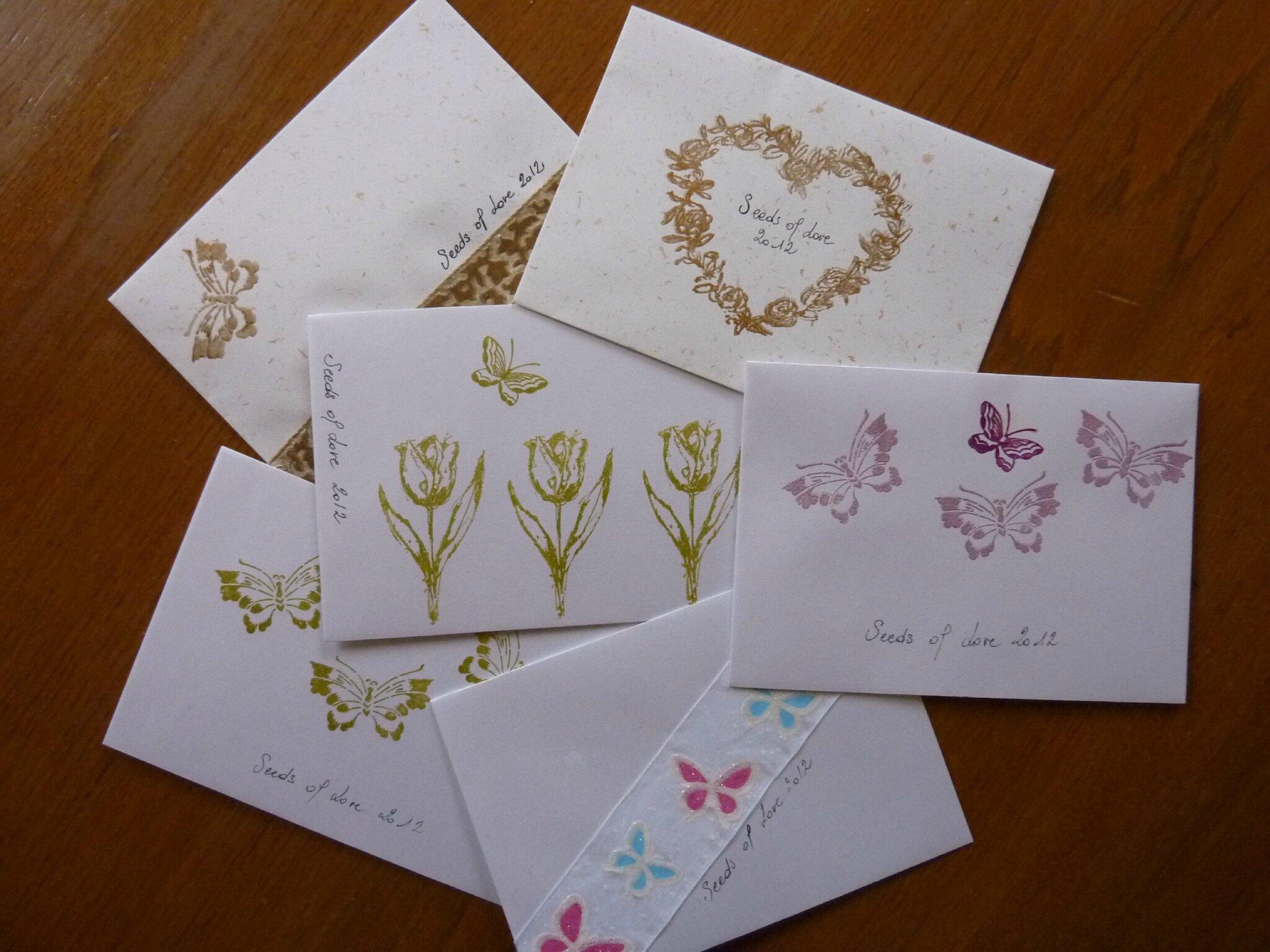 d corer une enveloppe fashion designs