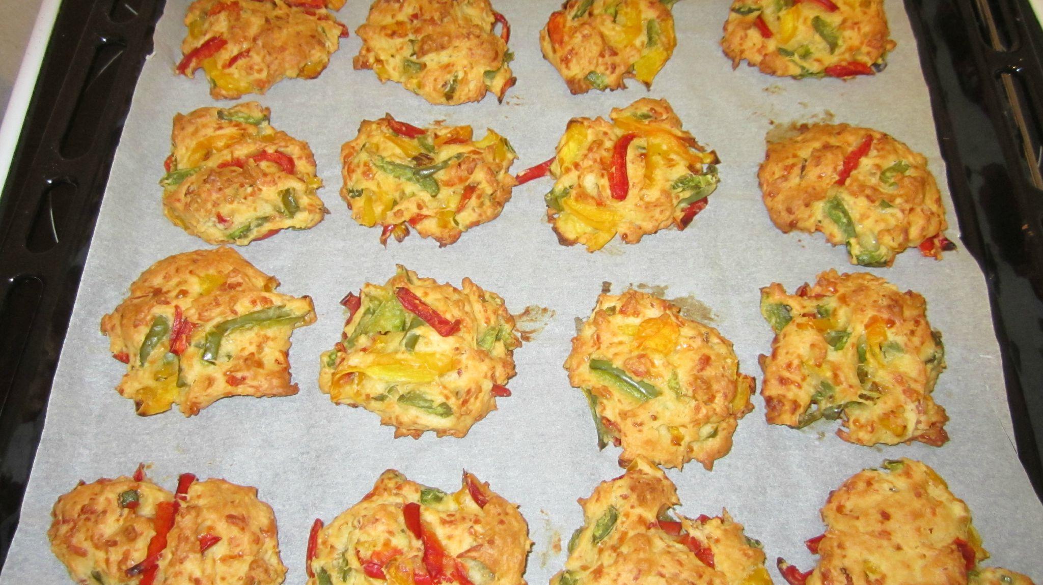 Cookies aux poivrons