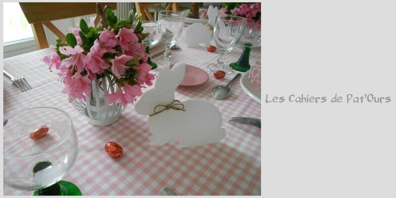 Table de Pâques 0